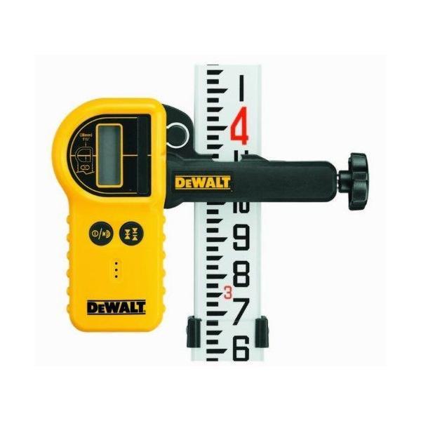 DeWALT Waterproof Digital Laser Detector with Clamp - 1