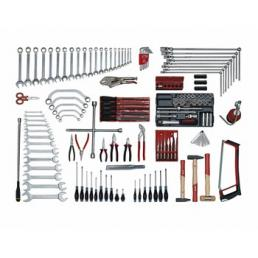 USAG Assortment for car repair (144 pcs.) - 1