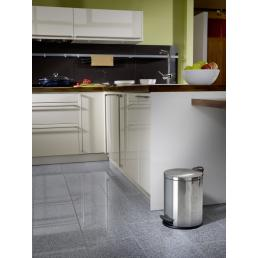 GIERRE Pedal Bin with waste bag clamping 13L - 7