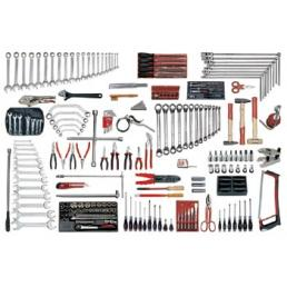 USAG 496 BP3 Assortment for car repair (166 pcs.) | Mister Worker®