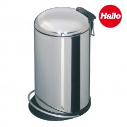 GIERRE Stainless Steel Bin with Curved Lid 16L - 1