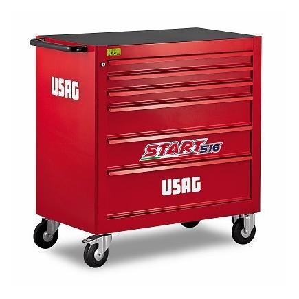 USAG START ROLLER CABINET XL- 6 DRAWERS (EMPTY) - 1