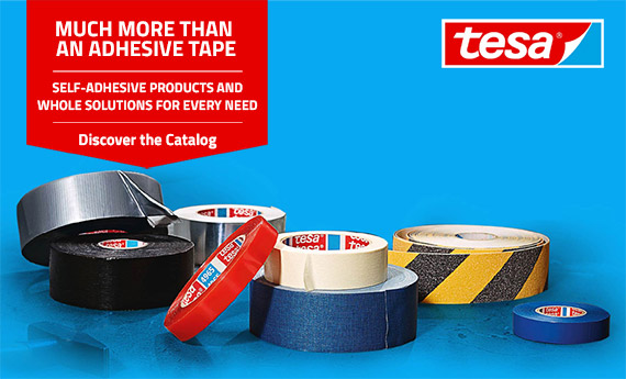 Tesa: Professional Adhesive Tapes, Mounting Tapes and Marking Tapes Available on Mr. Worker