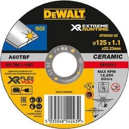 DeWALT XR FLEXVOLT Disco Ceramico per smerigliatrice per sbavo su metallo - 1