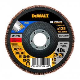 DeWALT Disco lamellare Ceramico XR FLEXVOLT 125mm - 1