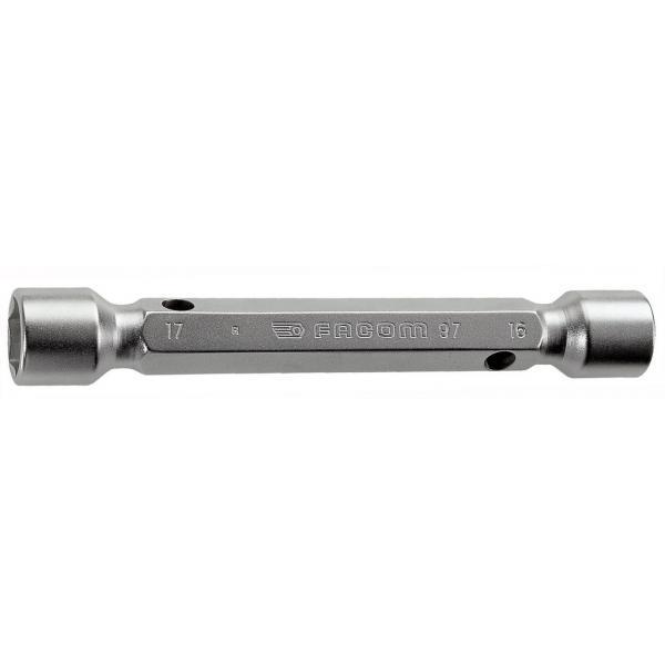 FACOM 97.10X11 - Chiavi a tubo doppie forgiate metriche - 1