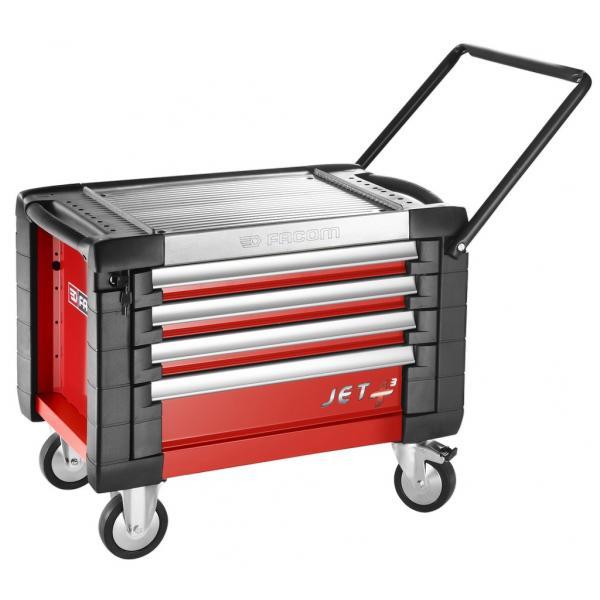 FACOM Cassettiere mobili JET+ 4 cassetti - 3 moduli per cassetto - 1