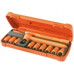 FACOM Composizione di 12 utensili isolati 1000 Volt serie VSE - 1