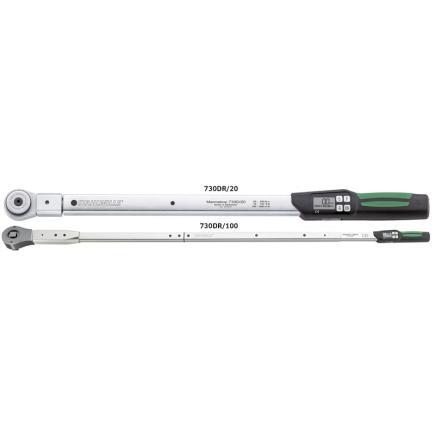 STAHLWILLE Chiave dinamometrica MANOSKOP® 730D a innesto chiave a cricco di commutazione - 1