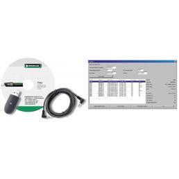 STAHLWILLE Adattatore USB, cavo con connettore jack e software n. 7732 per n. 730D - 1