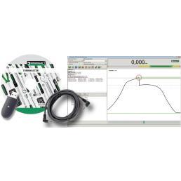 STAHLWILLE Adattatore USB, cavo con connettore jack e software Torkmaster - 1