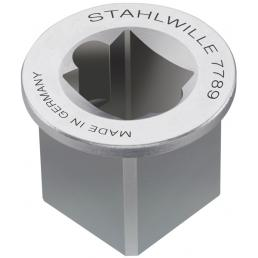 """STAHLWILLE Adattatore per quadro interno 1/2"""" esterno 3/4"""" - 1"""