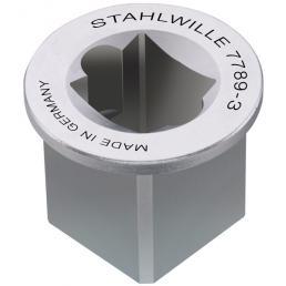"""STAHLWILLE Adattatore per quadro interno 1"""" esterno 1 1/2"""" - 1"""