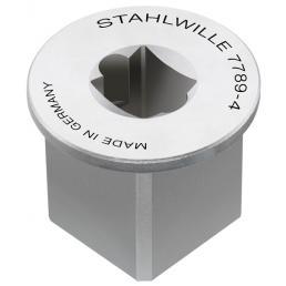 """STAHLWILLE Adattatore per quadro interno 1/4"""" esterno 1/2"""" - 1"""