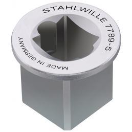 """STAHLWILLE Adattatore per quadro interno 3/8"""" esterno 1/2"""" - 1"""