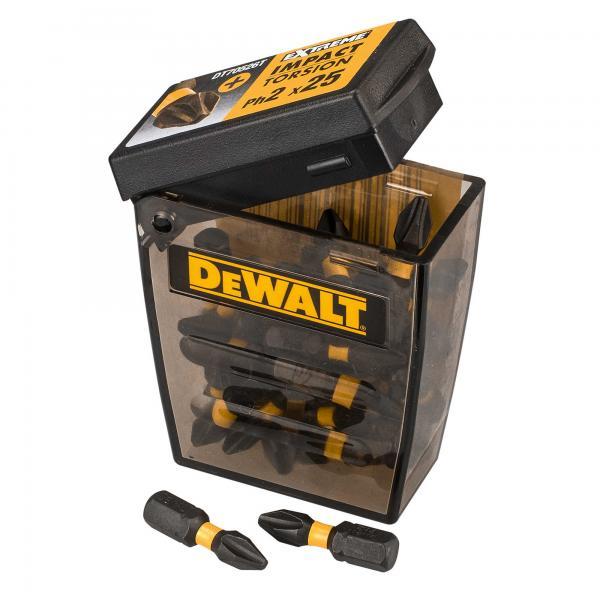 DeWALT DT70555T-QZ - Set 25 Pezzi inserti Torsion - 1