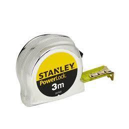 STANLEY Flessometro Micropowerlock 3m - 1