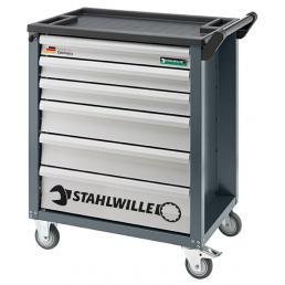 STAHLWILLE 90/6A Carrello per officina 6 cassetti vuoto - 1