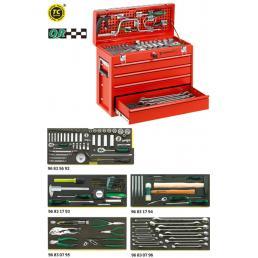 STAHLWILLE Assortimento Line Maintenance in cassetta portatile n. 13216/4 (123 Utensili) - 1