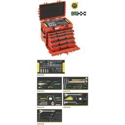 STAHLWILLE Assortimento Line Maintenance in trolley portautensile n. 13217 (122 Utensili) - 1
