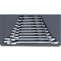 STAHLWILLE Assortimento chiavi a forchetta (10 pezzi) - 1