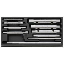 STAHLWILLE Assortimento chiavi a tubo (10 pezzi) - 1