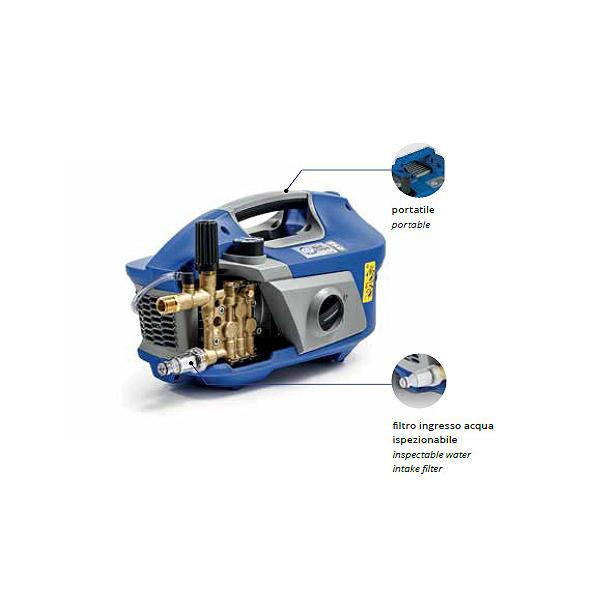 ANNOVI REVERBERI 14058 - AR 615 Idropulitrice Professionale ad acqua fredda AR BLUE CLEAN 130 bar, 630 l/h, 2900W - 1