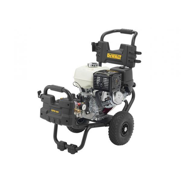 DeWALT 25160 - Idropulitrice Professionale con motore a scoppio HONDA ad acqua fredda DEWALT 190 bar, 600 l/h, 5.5 HP - 1