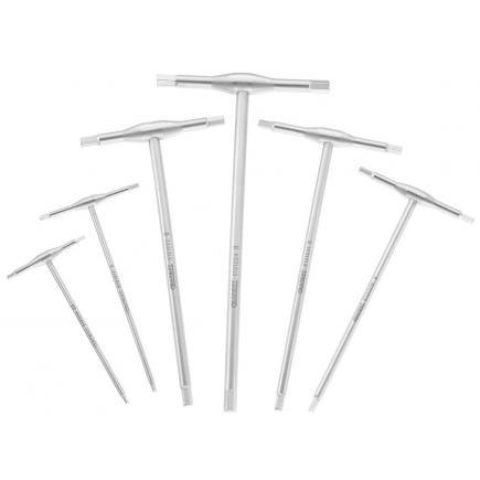 EXPERT Set di chiavi maschio a T esagonali 6 pz - 1
