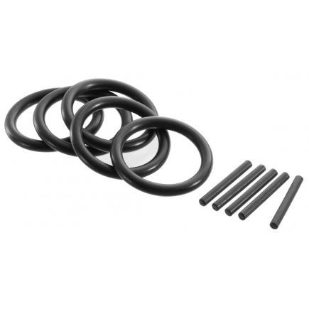 """EXPERT Set di 5 anelli e 5 spine per bussole impact 3/4"""" - 1"""