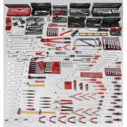 FACOM Assortimento CM.160A con banco da lavoro 2000.BB1M3 e armadio 2210 (528 utensili) - 1