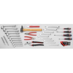 FACOM Assortimento CM.LT3 con cassetta 2 scomparti BT.6A (40 utensili) - 1