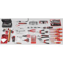 FACOM Assortimento elettromeccanica SAV di 119 strumenti metrici e in pollici - 1