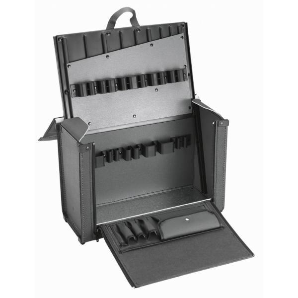 FACOM 2163.E16 - Assortimento CM.E16 con valigia in cuoio BV.7A (176 utensili) - 1