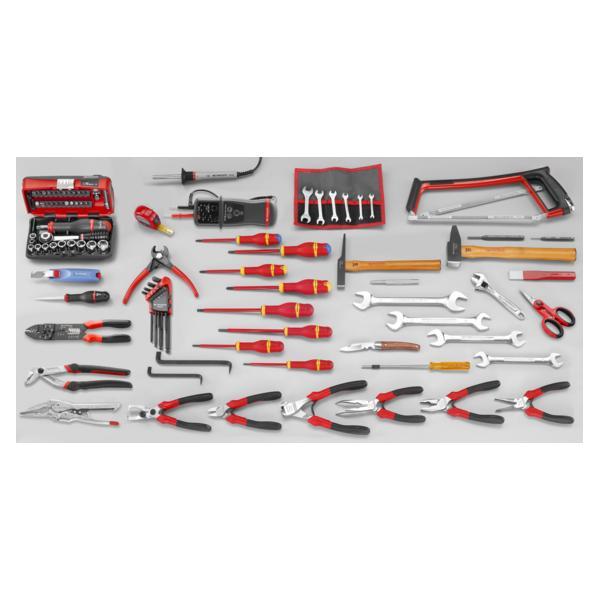 FACOM 2050.E17 - Assortimento CM.E17 con cassetta 5 scomparti BT.11A (104 utensili) - 1