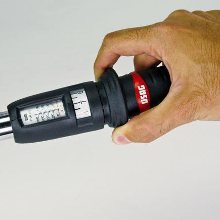 USAG Chiave dinamometrica con cricchetto reversibile - 2