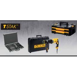DeWALT DeWalt D25144KPACK IT KIT Tassellatore900W + TSTAK + Set 11 Punte e 4 Scalpelli - 1