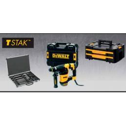 DeWALT DeWalt D25333KPACK IT KIT Tassellatore 950W + TSTAK + Set 11 punte e 4 scalpelli - 1