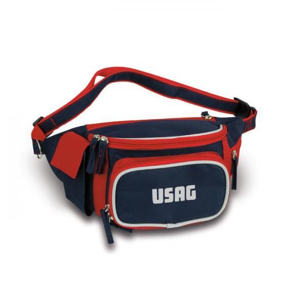 USAG U37600010G - 3760 B - Marsupio rosso/blu - 1