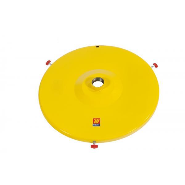 """MECLUBE 014-1053-200 - Coprifusto per pompe industriali con manicotto 2""""F per fusti da 30 50 kg - 1"""