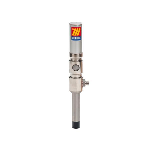MECLUBE 029-1374-000 - Pompa pneumatica da travaso in acciaio inox Mod. 603X R 3:1 Portata 30 l/min per postazioni fisse - 1