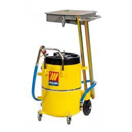 MECLUBE Recuperatore per olio esausto a pantografo 65 l per MOTOCICLI - 1