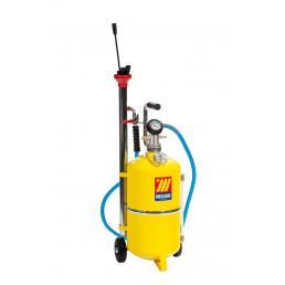 MECLUBE Aspiratore pneumatico per olio esausto 24 l con indicatore di livello - 1