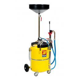 MECLUBE Aspiratore recuperatore pneumatico per olio esausto 65 l - 1