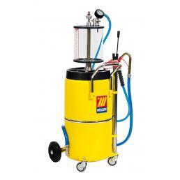MECLUBE Aspiratore pneumatico per olio esausto 90 l con precamera - 1