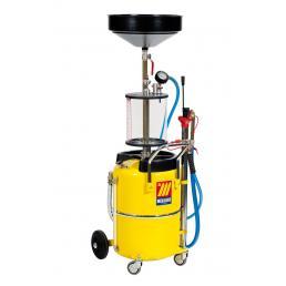 MECLUBE Aspiratore recuperatore pneumatico per olio esausto 65 l con precamera - 1