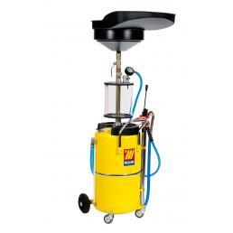 MECLUBE Aspiratore recuperatore pneumatico per olio esausto 90 l con precamera - 1