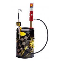 MECLUBE Completo olio per fusti da 50 60 l Portata pompa 25 l/min - 1