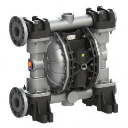 MECLUBE Pompa pneumatica a doppia membrana Mod. A700 in ALLUMINIO Guarnizioni in viton - 3