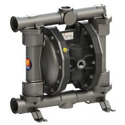 MECLUBE Pompa pneumatica a doppia membrana Mod. SS250 in ACCIAIO INOX AISI 316 Guarnizioni in viton - 3